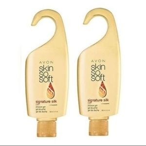 AVON SIGNATURE SILK MOISTURIZING SHOWER GEL 2PK